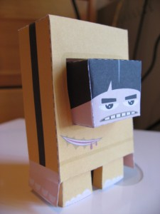 Bruiced lee papercraft