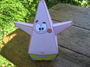 Patrick, bob l\'éponge papercraft