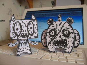 Papertoy Zombiefie
