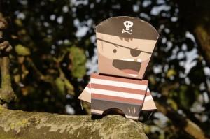 Bill le pirate en papier